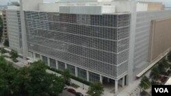 世界银行在华盛顿的总部大楼(资料照)