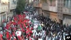 هلاکت احتجاج کنندگان توسط قوای سوریه در حمص