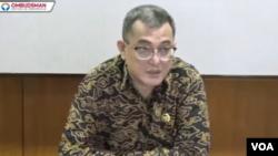 Anggota Ombudsman RI Indraza Marzuki Rais. (Foto: VOA/screenshot)