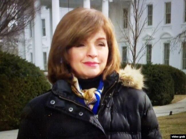 Helen Aguirre, directora de medios hispanos de la Casa Blanca.