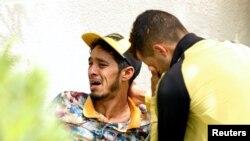 تیونس کے قریب سمندر میں کشتی ڈوبنے سے ہلاک ہونے والوں کے رشتے دار غم زدہ ہیں۔ 4 جوب 2018