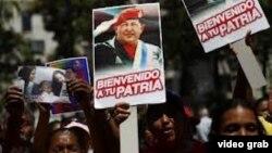 Persiste el silencio sobre la salud de Chávez.