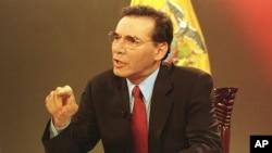 Mahuad decretó en 1999 un congelamiento temporal del 50% de los depósitos bancarios por la severa crisis financiera en el país.