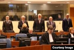 Jadranko Prlić i drugi presuđeni su na ukupno 111 godina zatvora (Foto: ICTY)