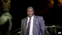 Madugun 'yan tawayen Sudan ta Kudu Riek Machar yayinda ya isa Ethiopia