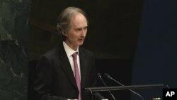 «گی یر پدرسن» سفیر نروژ در چین، به عنوان فرستاده ویژه جدید سازمان ملل متحد در امور سوریه منصوب شد.