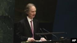 گِر پدرسِن، دیپلمات نروژی و نماینده ویژه سازمان ملل در امور سوریه