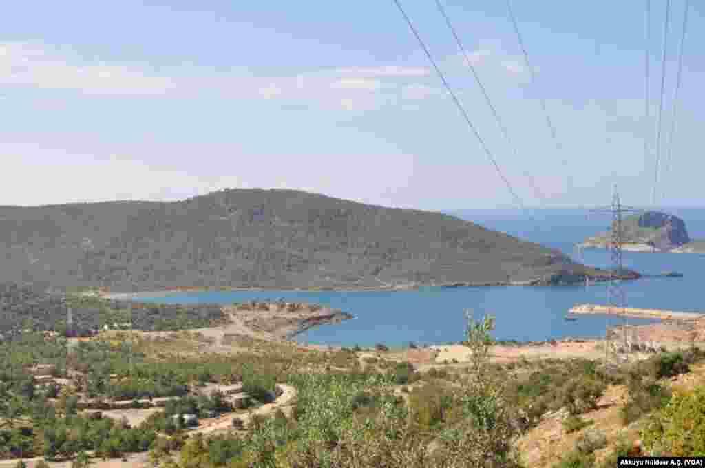 Akkuyu Nükleer Enerji Santrali'nin yapılacağı bölge