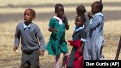 Children at Faraja Children's Home near Nairobi, Kenya