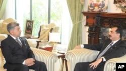 احمد شجاع پاشا کی وزیراعظم گیلانی سے ملاقات