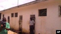 Celas do comando policial de Nampula