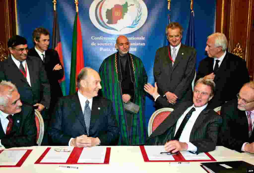 12 июня 2008 года на конференции в Париже международное сообщество приняло решение выделить Афганистану 20 млрд долларов в качестве финансовой помощи