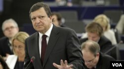 José Manuel Barroso dijo que Europa encara una crisis de confianza que no había ocurrido en décadas.