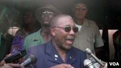 Mantan Presiden Liberia, Charles Taylor (foto dokumentasi, 8 April 2003).