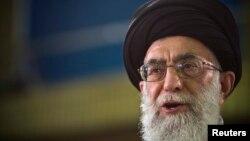 伊朗精神领袖阿亚图拉哈梅内伊(资料照片)。