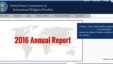 US Commission of International Religious Freedom Annual Report