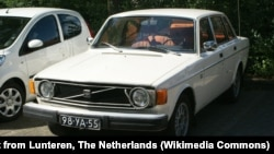 The 1974 Volvo 144 was a model sold all over the world, including North Korea.