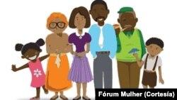 Cartaz moçambicano sobre direitos
