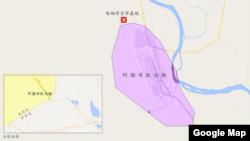 叙利亚阿勒布凯马勒附近哈姆丹空军基地 (谷歌地图)