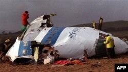 На месте крушения лайнера авиакомпании «ПанАм» у шотландского поселка Локерби