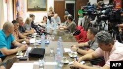 Konferencija za novinare sindikalnih organizacija