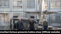 Poster film Hobbs & Shaw (2019)