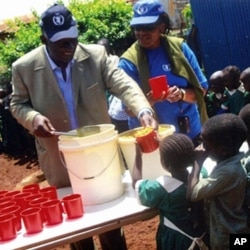 Ghana's former president, John Agyekum Kufuor, backed a school meal program which reached about one in nine of his country's primary school children.
