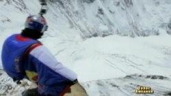 Стрибок з Евересту російського відчайдуха