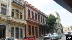 Một con đường ở Santiago, thành phố lớn thứ 2 của Cuba