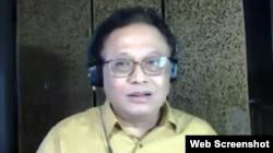 Dr Pandu Riono Epidemiolog FKM UI. (Foto: Screenshot)