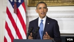 ປະທານາທິບໍດີ Barack Obama ກ່າວປ້ອງກັນຂໍ້ຕົກລົງ ນິວເຄລຍ ທີ່ບັນດາປະເທດມະຫາອໍານາດ ບັນລຸກັບ ອີຣ່ານ