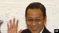印度尼西亚副总统布迪约诺(2010年3月4号资料照)
