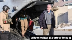 Ross Wilson entered Afghanistan as a US Treasurer