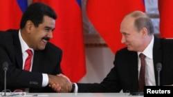 Hace seis meses se reunieron en Rusia Putin y Maduro.