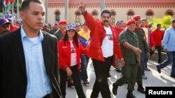رئیس جمهوری ونزوئلا (وسط)
