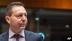 Yannis Stournaras, gouverneur de la Banque de Grèce.