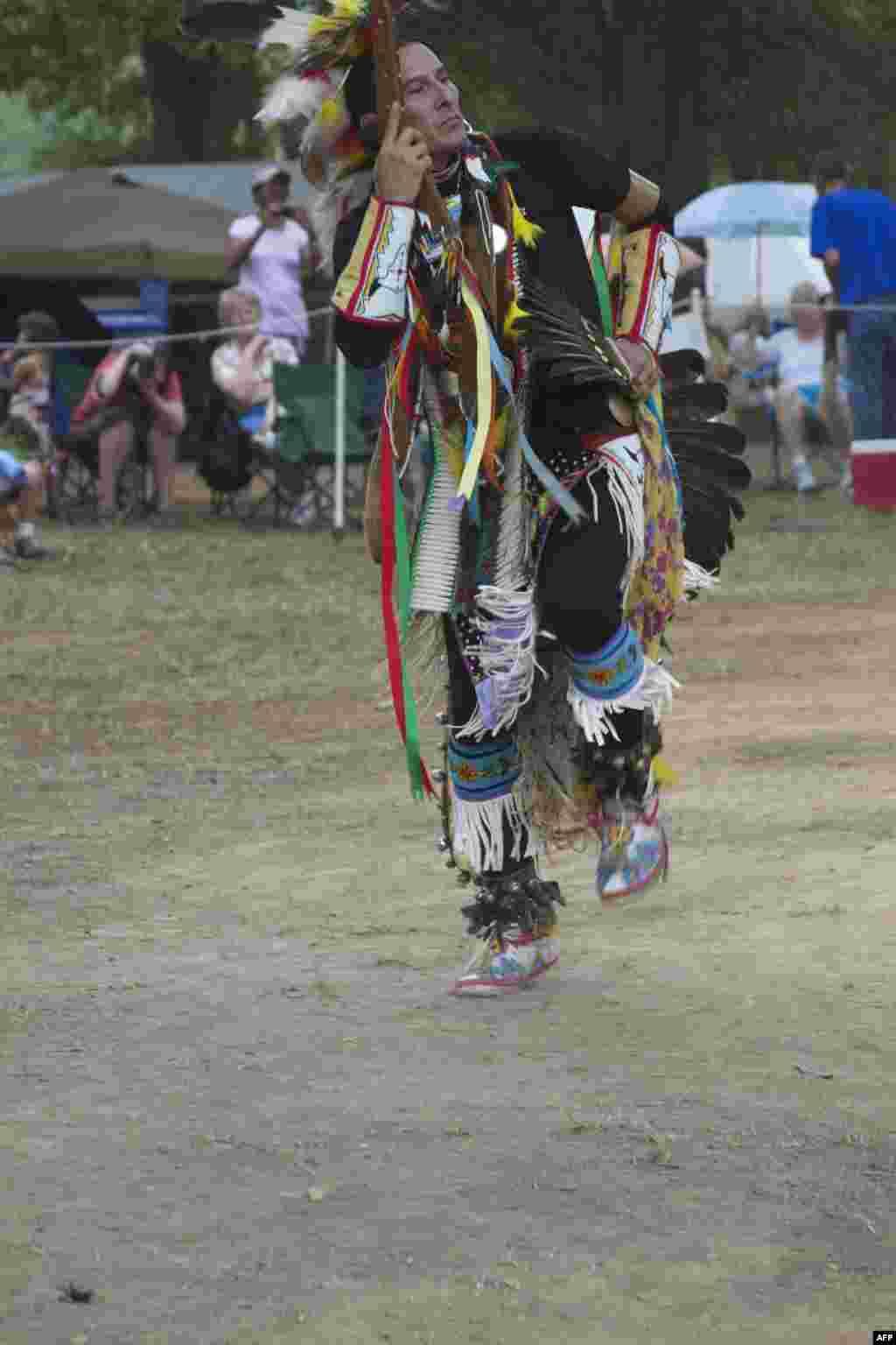 Пау-Вау: танец воина