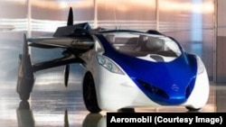 Le prototype Flying Roadster (Photo Aeromobil)