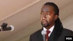 FILE - Zimbabwe's Indigenization and Economic Empowerment Minister, Patrick Zhuwao