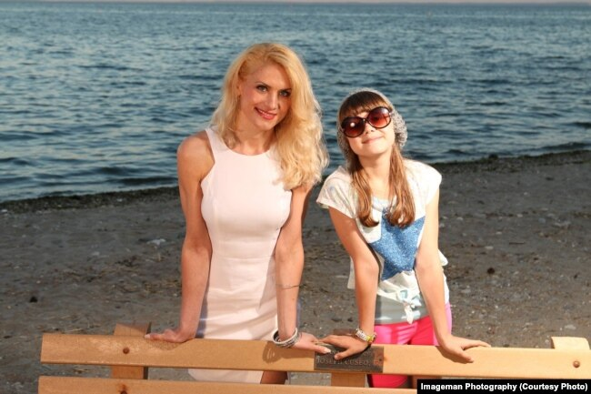 З донькою Кароліною