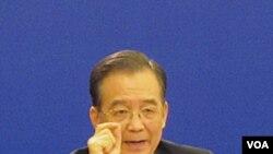 Perdana Menteri Tiongkok, Wen Jiabao. (foto: dok)
