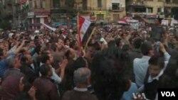 تظاهرات مخالفان و طرفداران محمد مرسی در مصر