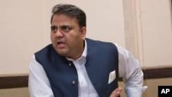 وفاقی وزیر اطلاعات و نشریات فواد چوہدری، فائل فوٹو