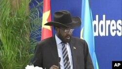 南蘇丹總統基爾剛訪問中國。