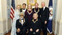 قدردانی از هنرمندان آمریکا در مرکز کندی واشنگتن