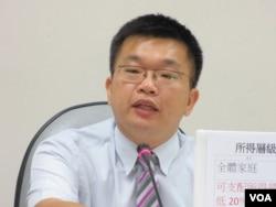 台湾民进党立委蔡其昌(美国之音张永泰拍摄)