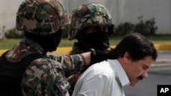 龐大販毒集團錫那羅亞的頭目古斯曼。(2014年2月22日資料照)