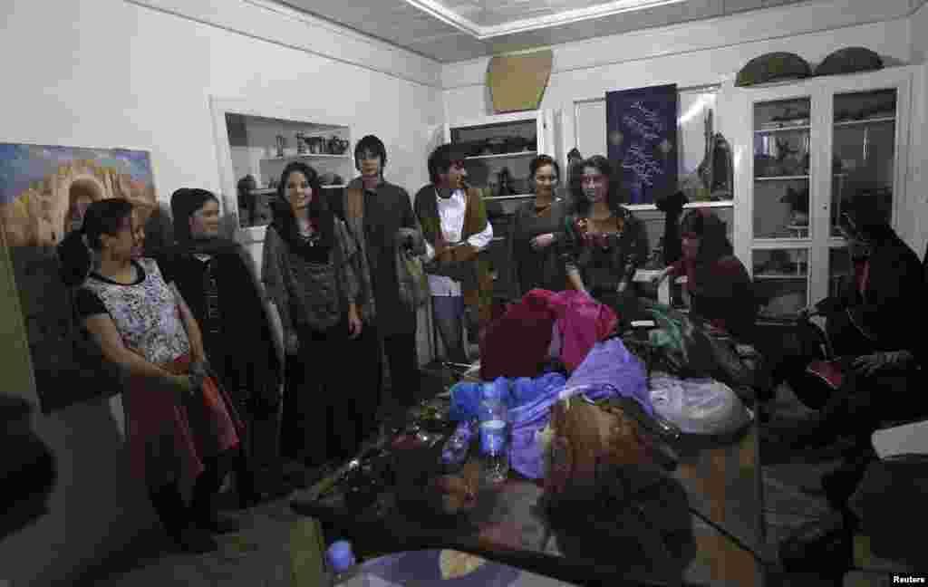 افغان خواتین کا فیشن شو
