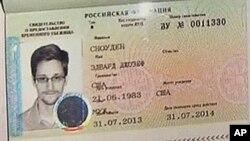 Visa de asilo temporal en Rusia para Edward Snowden.