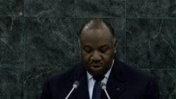 Allocution du President Ali Bongo du Gabon